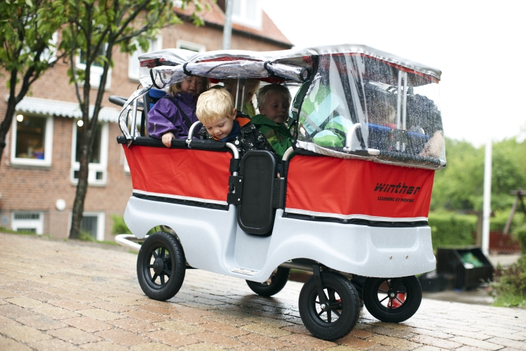 Babyspeciaalzaak De Turtle Kiddy Bus De Wandelwagen